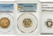 Key Date, Finest Known US Gold in Special Offering From David Lawrence Rare Coins