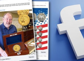 Three Numismatic Groups Admonish Facebook About Ads Offering Counterfeits