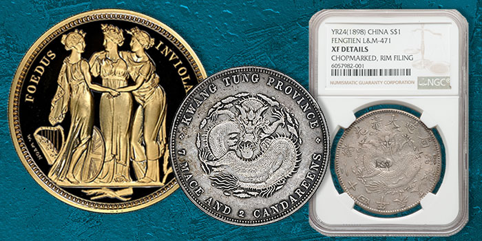 Asian Coins Showcased in Autumn Heritage Hong Kong Auction