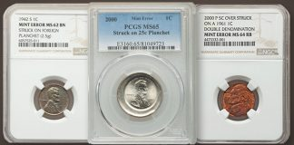 Error Coins Featured in Heritage Showcase Auction October 6
