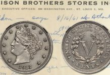 Stack's Bowers Galleries to Display Famous Hawaii Five-O 1913 Liberty Head Nickel at Long Beach Expo