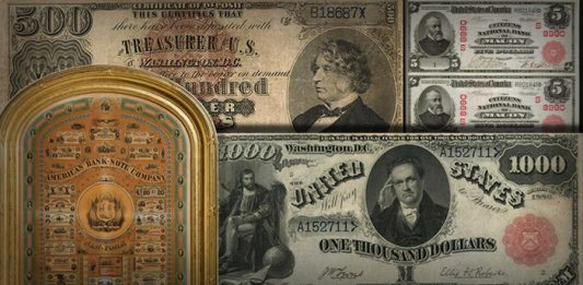 Over $4.7 Million in U.S. Currency Sold in Stack's Bowers Galleries August ANA Auction