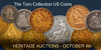 Heritage Presents the Toro Collection of Classic US Coins Showcase Auction