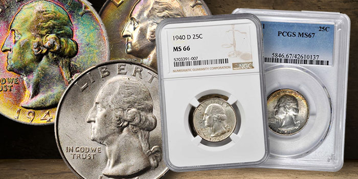 A Concise Overview of the Washington Quarter Silver Issues