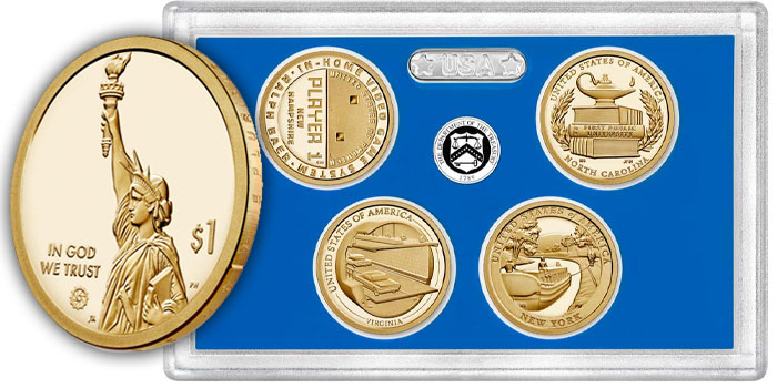 2021 American Innovation $1 Coin Proof Set Available October 14