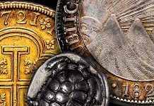 Tauler and Fau Auction 96 of Ancient, Spanish, and World Coins Open Through Nov. 3