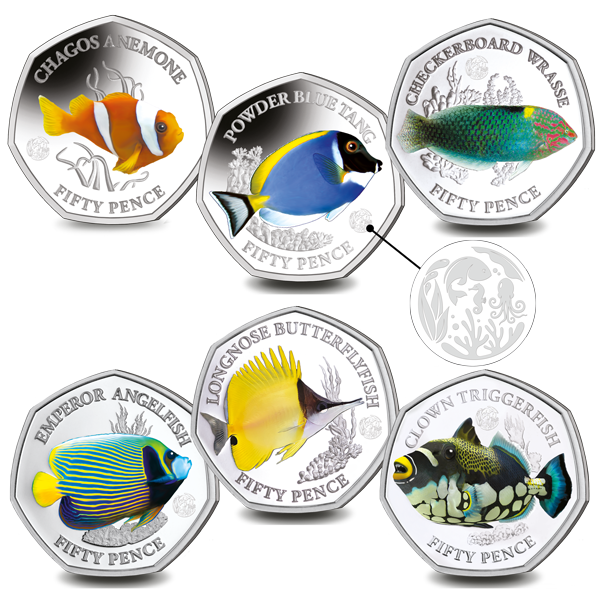 Limited Edition Sea Creatures Silver Set Now Available With Unique Privy Mark - Pobjoy Mint