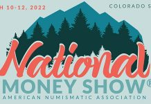 """Book Now for 2022 National Money Show and Debut of """"Medal in America"""" Exhibit"""