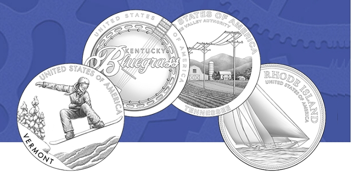 United States Mint Announces 2022 American Innovation $1 Coin Program Designs