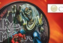 New Silver Coin Celebrates 40 Years of Iron Maiden's Number of the Beast
