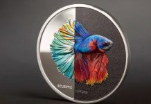 Siamese Fighting Fish Embody Eclectic Nature on New Silver Coin From CIT