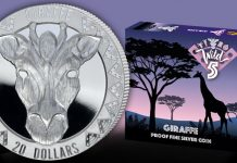 New Coin Series Features Sierra Leone's Wild Five Animals Starting With the Giraffe