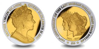 GoldClad 1oz Silver Proof Morgan-Peace Dollar Coin Now Available From Pobjoy Mint