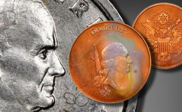 Heritage Offering Inco & Gould Pattern Coins in Showcase Auction