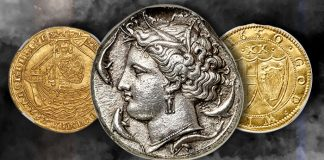 World and Ancient Coins Heritage Signature Auction, Platinum Night Open for Bidding