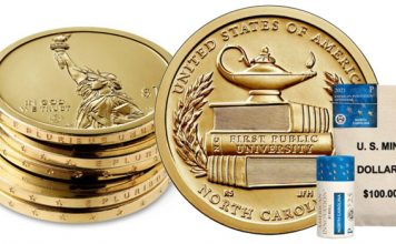 North Carolina American Innovation $1 Coin Products Available Today