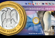 Second Coin in Series Commemorates 30th Anniversary of Antarctic Treaty Environmental Protocol