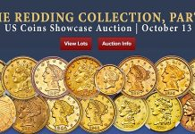 Heritage Offering Redding Collection Quarter Eagles, California Fraction Gold Coins