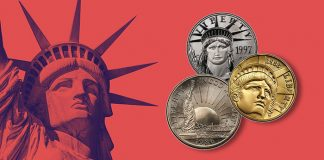 Six United States Coins That Honor the Statue of Liberty